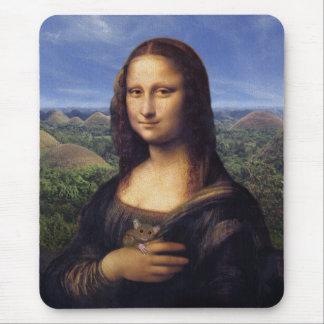 Mona Lisa de Bohol Mouse Mat