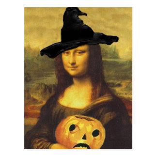Mona Lisa During Renaissance In Costume Postcard