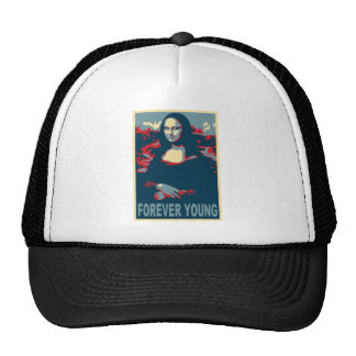 Mona Lisa Forever Young Cap