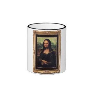 Mona Lisa Framed mug