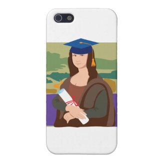 Mona Lisa Graduate iPhone 5 Cases