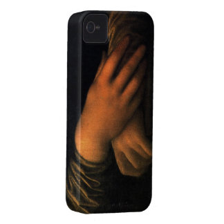 Mona Lisa - hands iPhone 4 Case