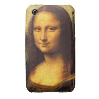 Mona Lisa Head Detail - Leonardo Da Vinci iPhone 3 Covers