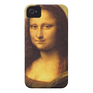 Mona Lisa Head Detail - Leonardo Da Vinci iPhone 4 Covers
