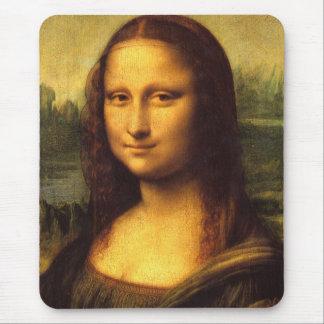 Mona Lisa Head Detail - Leonardo Da Vinci Mouse Pad