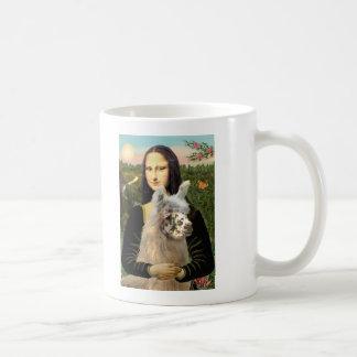 Mona Lisa & Her Llama Classic White Coffee Mug