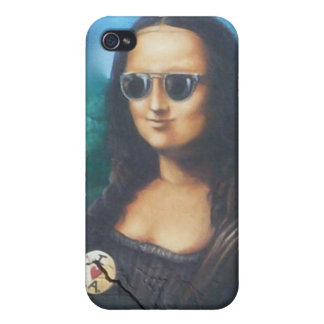 Mona Lisa in Sunglasses iPhone 4/4S Case