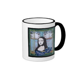Mona Lisa in the Country Ringer Mug