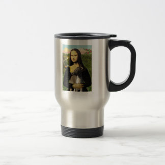 Mona Lisa - Italian Greyhound Coffee Mugs