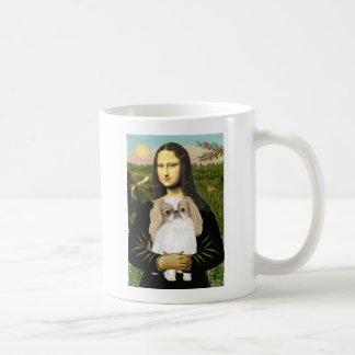 Mona Lisa - Japanese Chin (L1) Basic White Mug