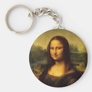 Mona Lisa Keychain