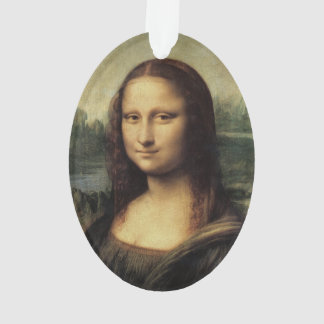 Mona Lisa La Gioconda by Leonardo da Vinci Ornament