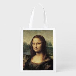 Mona Lisa La Gioconda by Leonardo da Vinci Market Tote