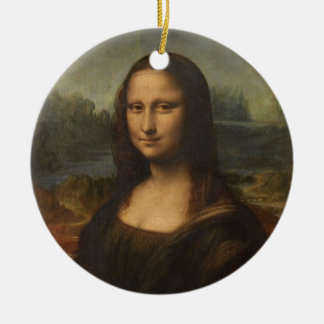 Mona Lisa (La Gioconda) Christmas Ornament