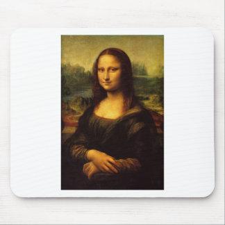 Mona Lisa - Leonardo Da Vinci Mouse Pad