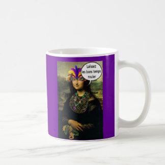 Mona Lisa Mardi Gras Mugs