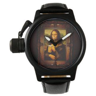 Mona lisa - mona lisa beer  - funny mona lisa-beer watches