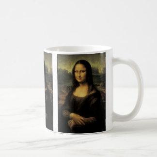 Mona Lisa Basic White Mug