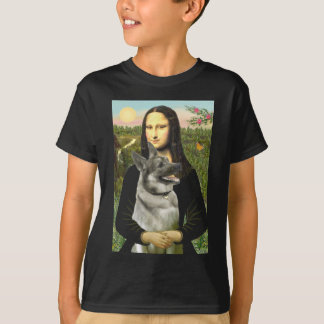 Mona- Lisa - Norwegian Elkhound T-Shirt