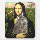 Mona Lisa - Norweigan Forest Cat Mouse Mat