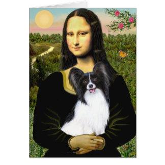 Mona Lisa - Papillon 1 Greeting Card