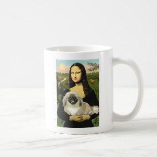Mona Lisa - Pekingese 1b Coffee Mug