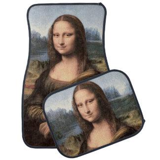 Mona Lisa Portrait / Painting Car Mat