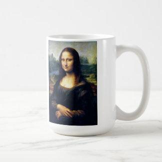 Mona Lisa Restored Classic White Coffee Mug