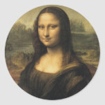 Mona Lisa Round Sticker