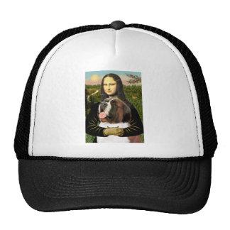 Mona Lisa - Saint Bernard Mesh Hats