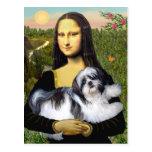 Mona Lisa - Shih Tzu (A-ld) Post Cards