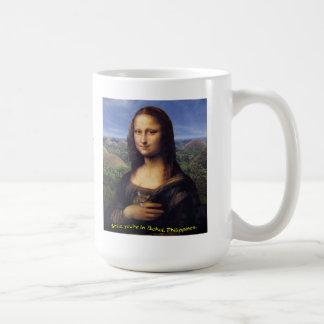 Mona Lisa Smile Bohol Basic White Mug