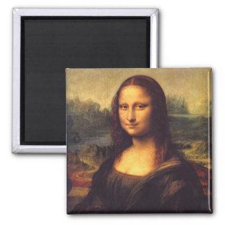 Mona Lisa Square Magnet