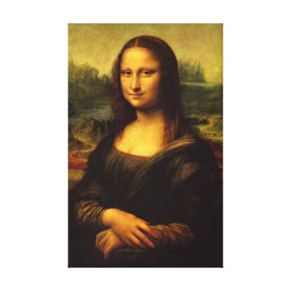 Mona Lisa - Stretched Canvas Reproduction Gallery Wrap Canvas