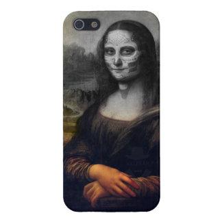 mona lisa sudar skull iPhone 5 cases