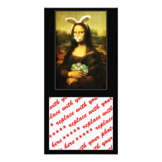 Mona Lisa, The Easter Bunny Picture Card