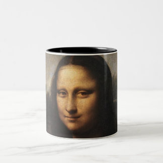 Mona Lisa Two-Tone Mug
