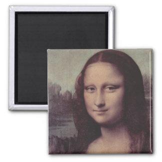 Mona Lisa Up Close Magnets