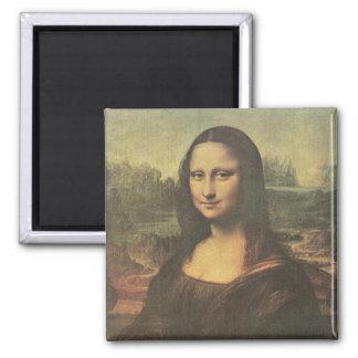 Mona Lisa Vintage Fine Art Magnet