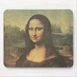 Mona Lisa Vintage Fine Art Mouse Mat
