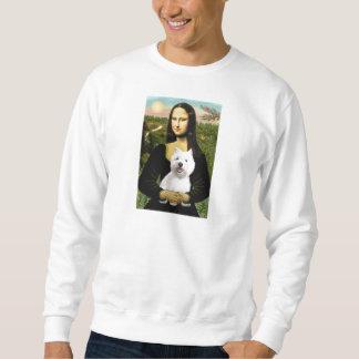Mona Lisa - Westie 2 Sweatshirt