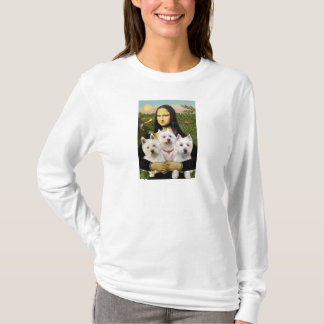 Mona Lisa - Westies (three) T-Shirt