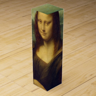 Mona Lisa Wine Bottle Box