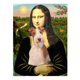 Mona Lisa - Wire Fox T (#3) Postcard