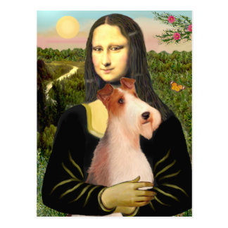Mona Lisa - Wire Fox T (4) Postcard