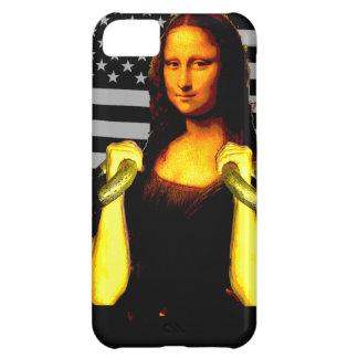 Mona Lisa with KettleBells iPhone 5C Case