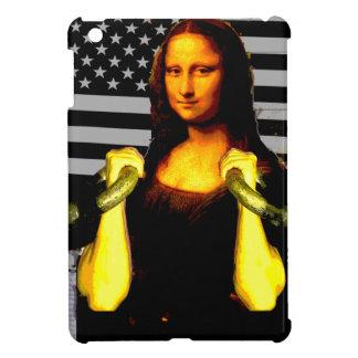 Mona Lisa with KettleBells iPad Mini Cases