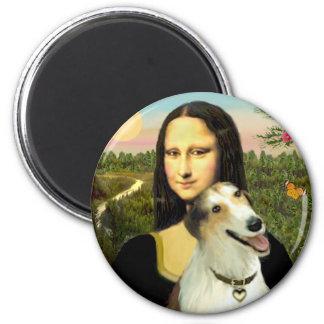 Mona Lisa's Borzoi Magnet