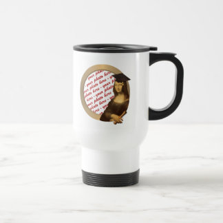 Mona Lisa's Graduation Day Photo Frame Travel Mug
