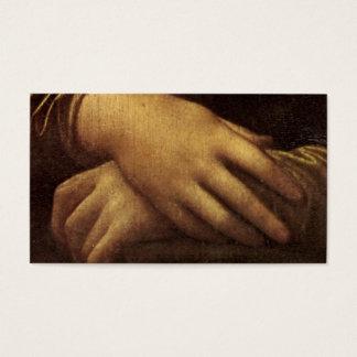 Mona Lisa's Hands by Leonardo da Vinci Business Card